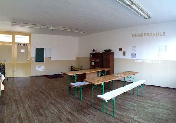 Seminarraum Hundeschule Sporthundshop